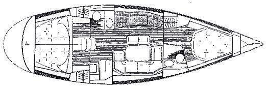 Grand Soleil 43 (Skalice - BT) Plan image - 18