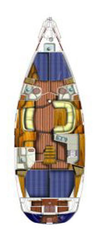 Sun Odyssey 49DS (EVITA) master plan - 8