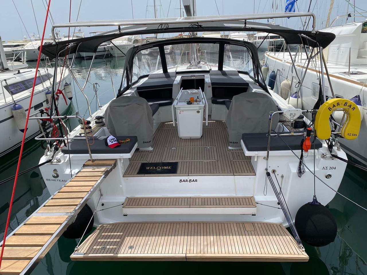 Oceanis 46.1 (BAR-BAR (air condition, generator))  - 5