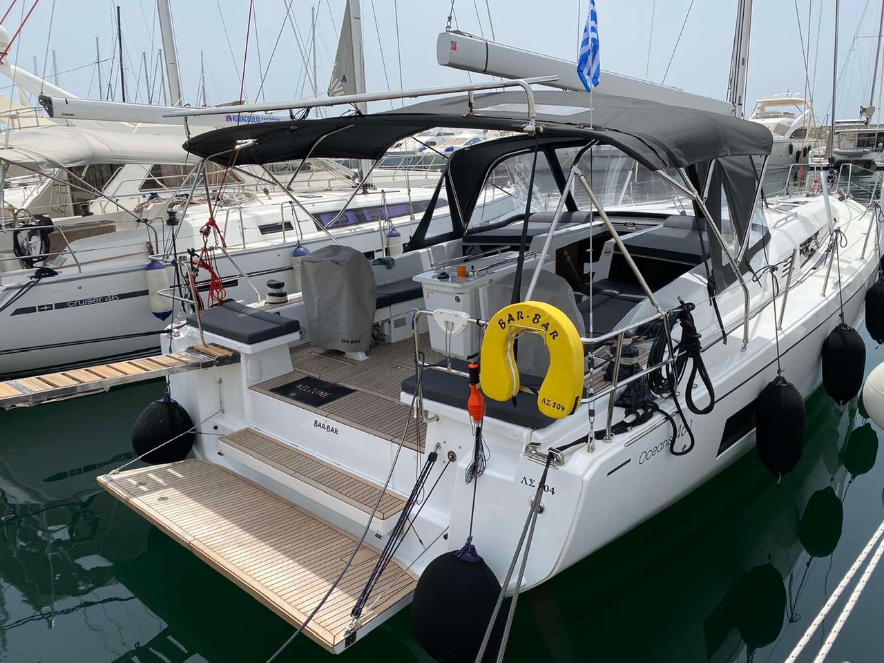 Oceanis 46.1 (BAR-BAR (air condition, generator))  - 14