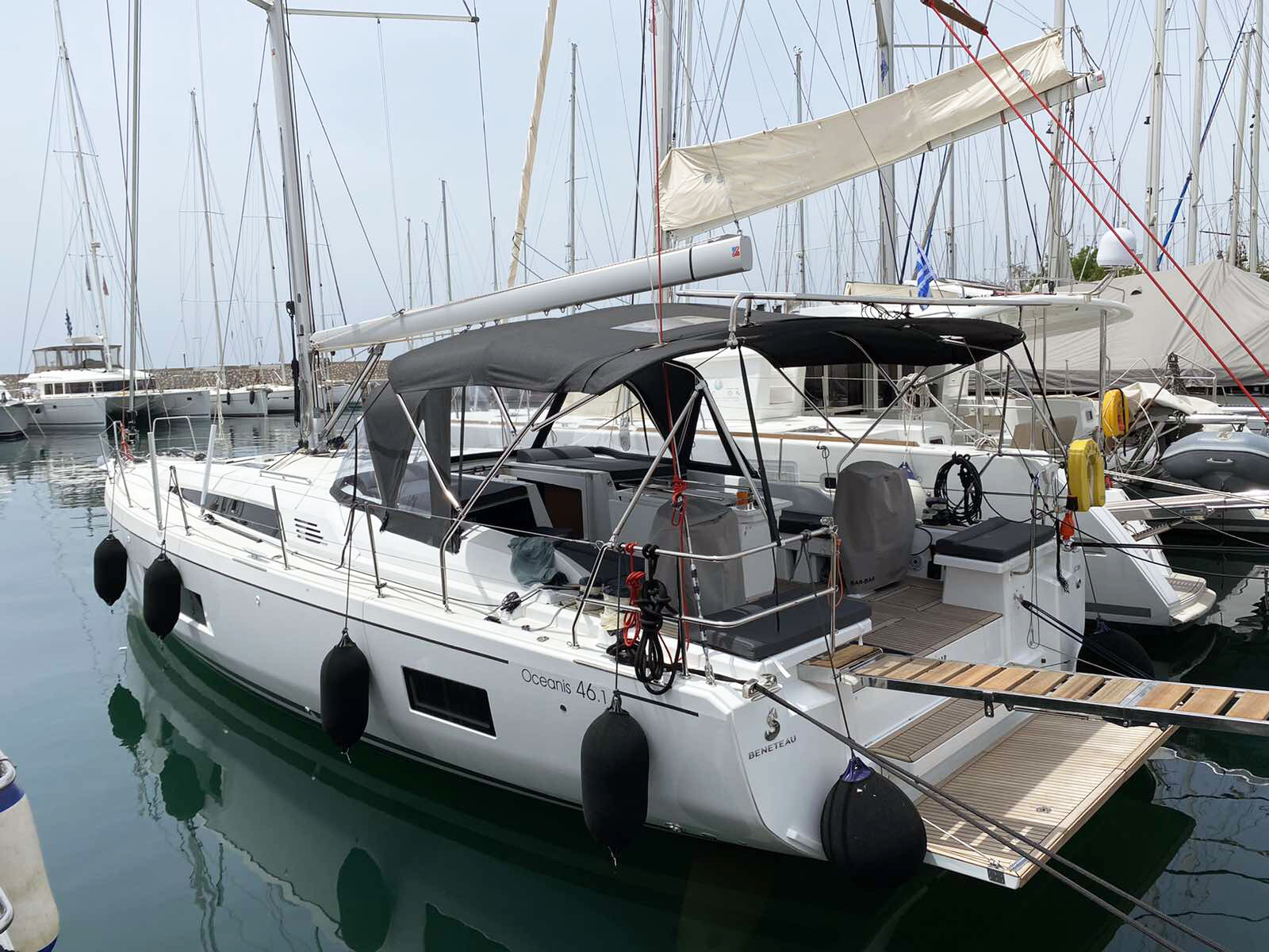 Oceanis 46.1 (BAR-BAR (air condition, generator))  - 13
