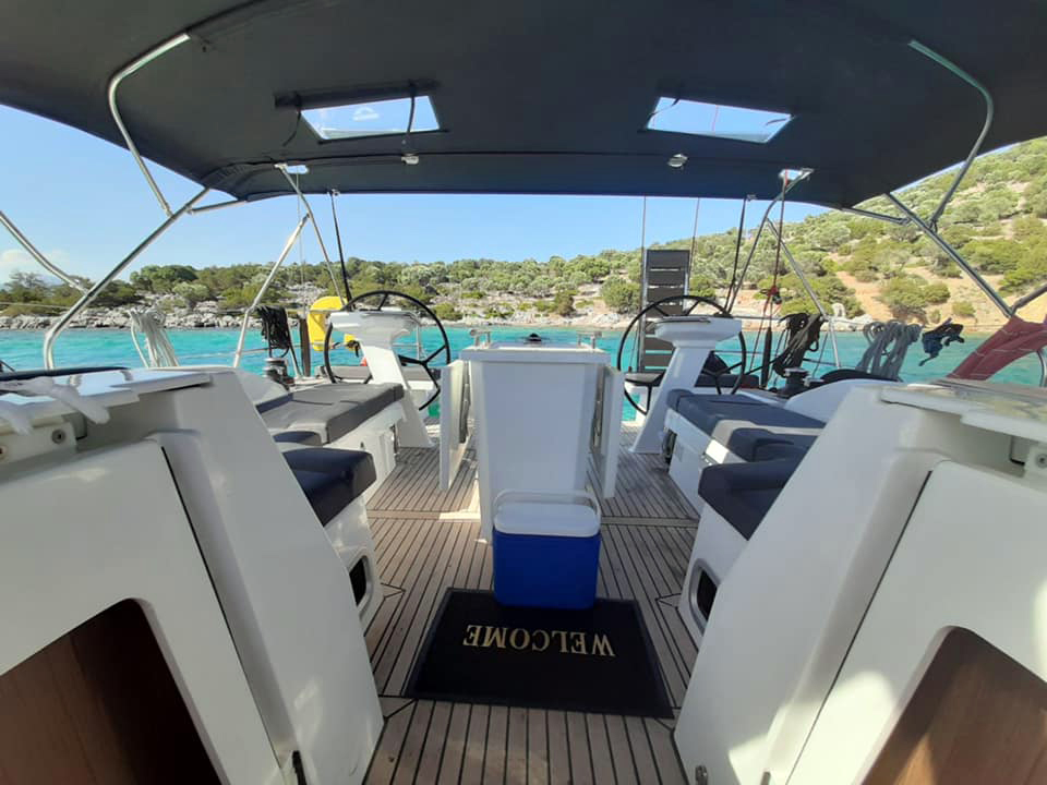 Oceanis 46.1 (BAR-BAR (air condition, generator))  - 11