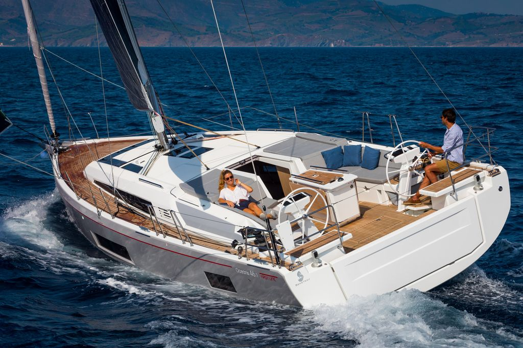 Oceanis 46.1 (BAR-BAR (air condition, generator))  - 6