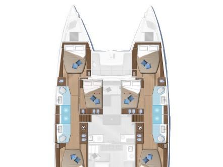 Lagoon 50 (Swan) Plan image - 5