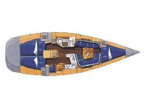 Elan Performance 37 (Sailway Uno) Plan image - 1