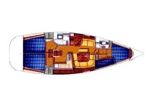 Sun Odyssey 43 (Saida) Plan image - 4