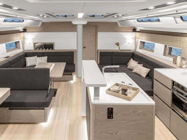 Hanse 588 (AMADEA (ONLY SKIPPERED)) Interior image - 12