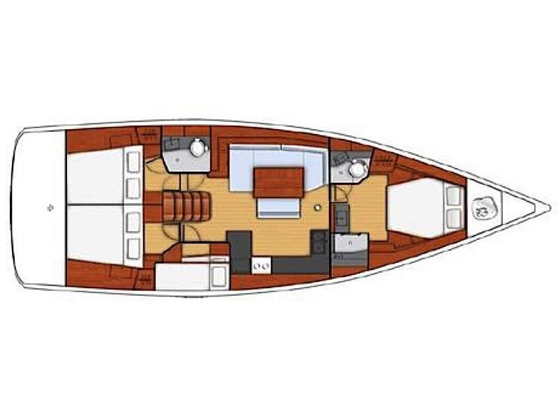 Oceanis 48 (10-4) (Lady Bug I) Plan image - 38