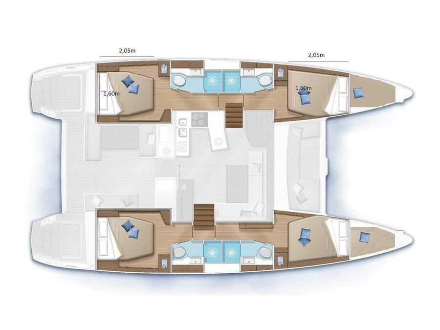 Lagoon 450 Sport (Felix Finis) Plan image - 28