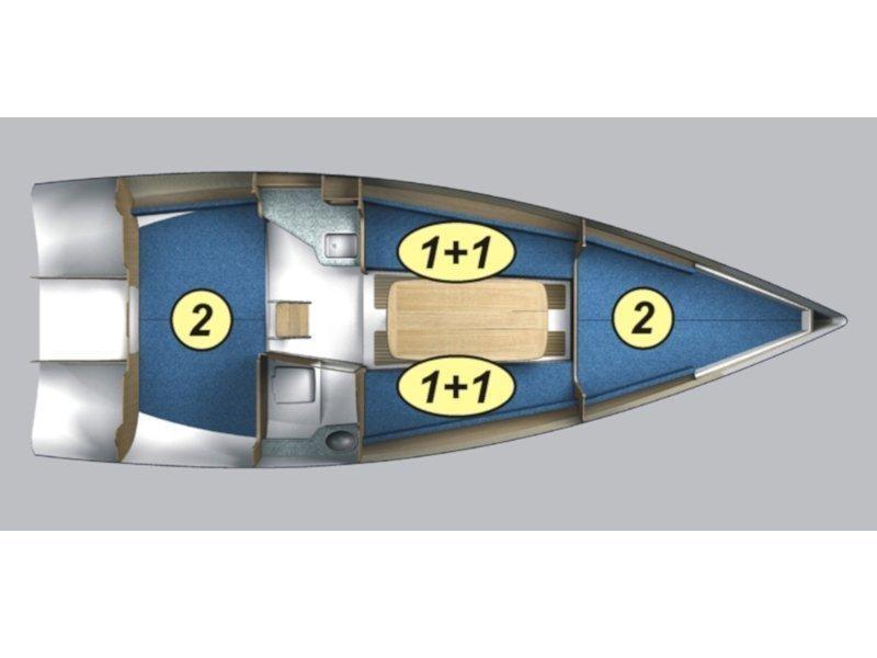 Maxus evo 24 Prestige (PAPARAPA 2) Plan image - 1