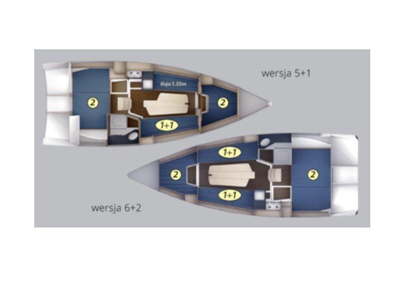 Maxus 26 Prestige 7/2 (VELA) Plan image - 1