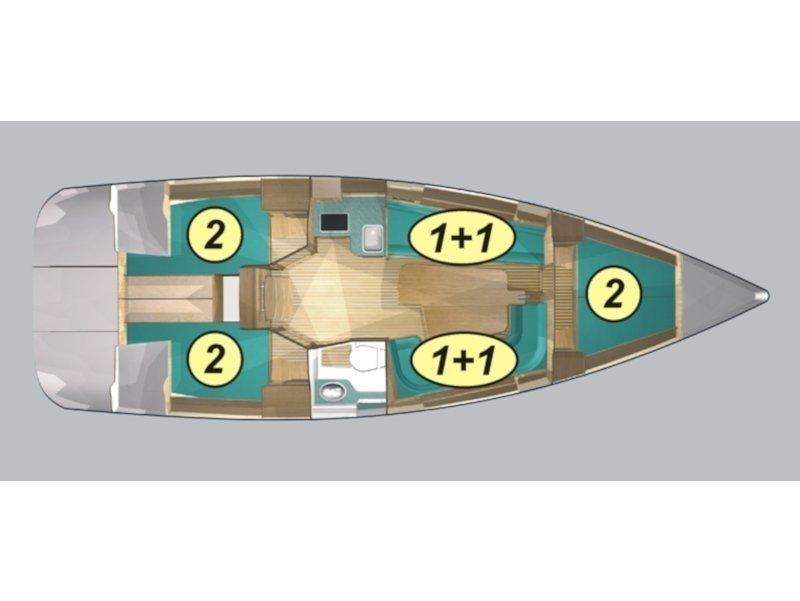Maxus 33.1 RS Prestige (ERATO) Plan image - 1