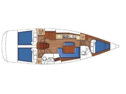 Oceanis 40 (Peppina) Plan image - 8