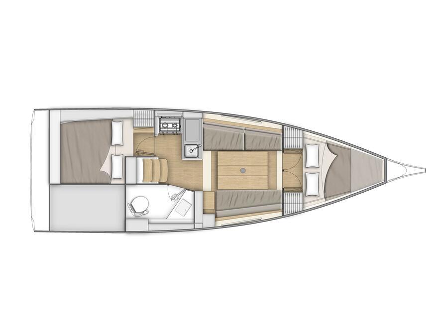 Oceanis 30.1 (Mimosa) Plan image - 5