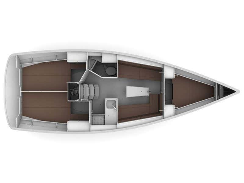 BAVARIA C 34  (LUCY) Plan image - 8