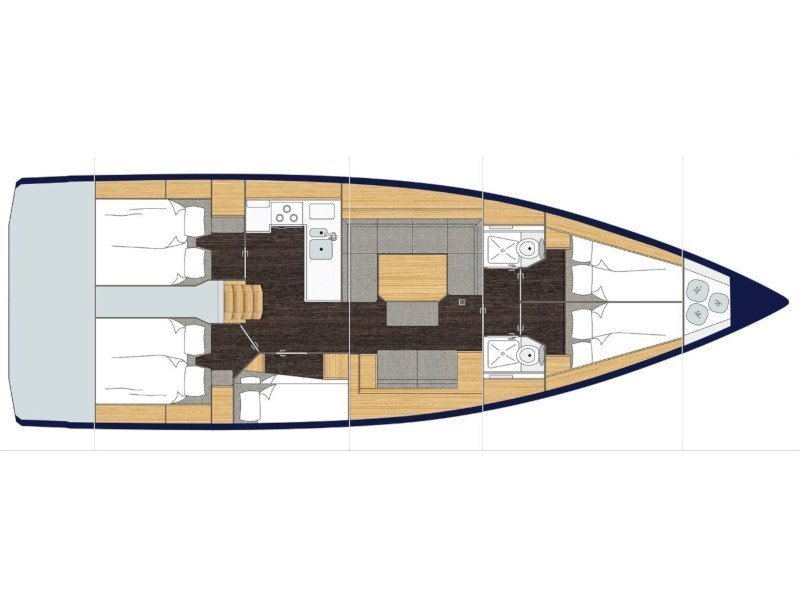 BAVARIA C 45 BT (19) (TWIGGY) Plan image - 7