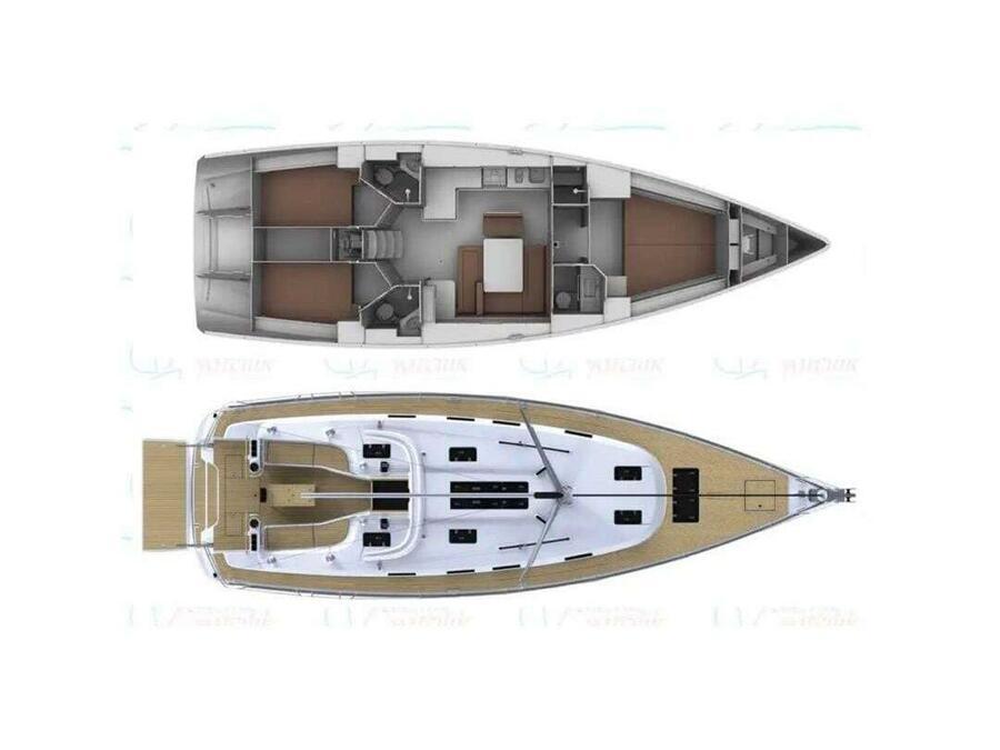 Bavaria Cruiser 45 (Eldoris) Plan image - 2