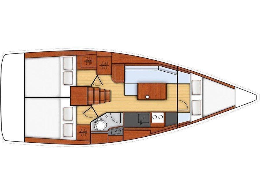 Oceanis 35 (Minta) Plan image - 6