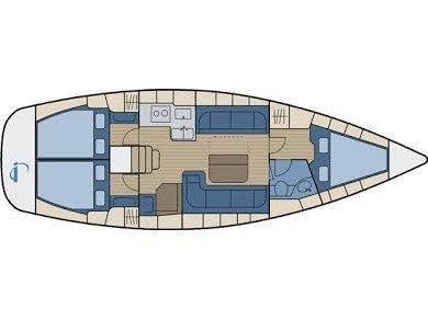 Bavaria 38 Cruiser (CORI) Plan image - 2