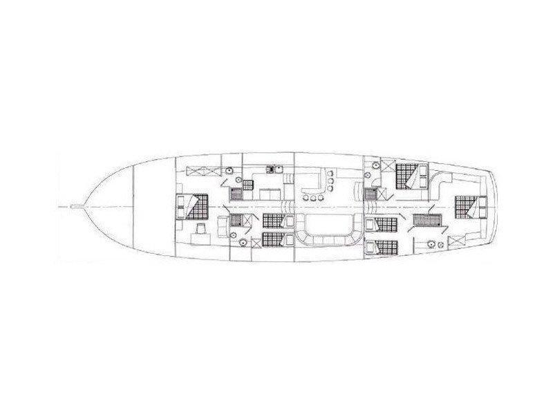 Gulet Dulcinea (Dulcinea) Plan image - 18