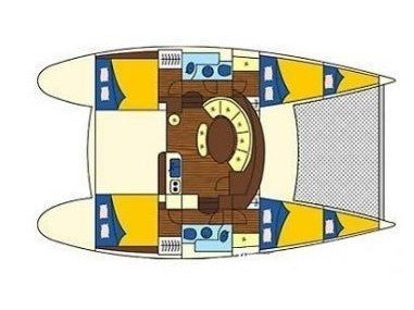 Lagoon 380 (Grey Pearl) Plan image - 9