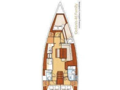 Beneteau 46 (FANI) Plan image - 7