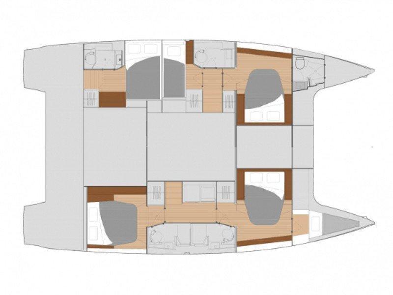 FP Saona 47 (NINA V) Plan image - 2
