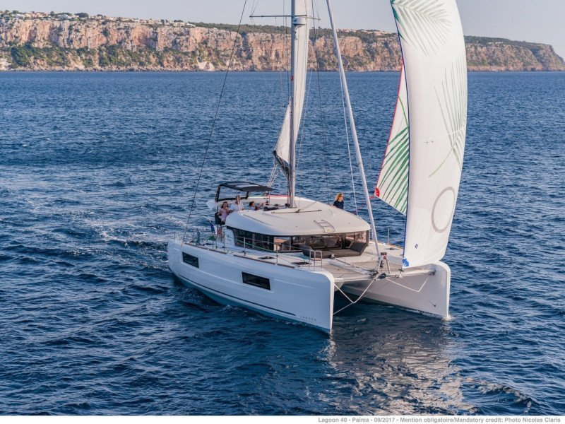 Lagoon 40 (Sail and Passion)  - 1