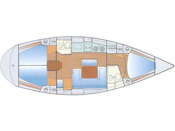 Bavaria 38H (PLATON 2) Plan image - 4