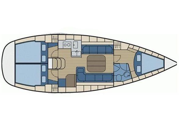 Bavaria 37 Cruiser (Paula) Plan image - 1