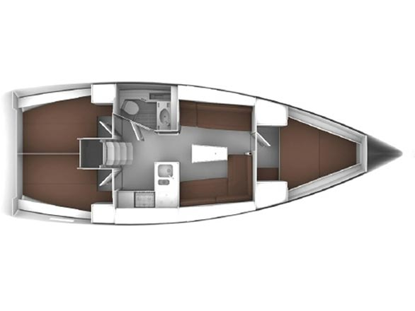 Bavaria Cruiser 37 (andrelli) Plan image - 2