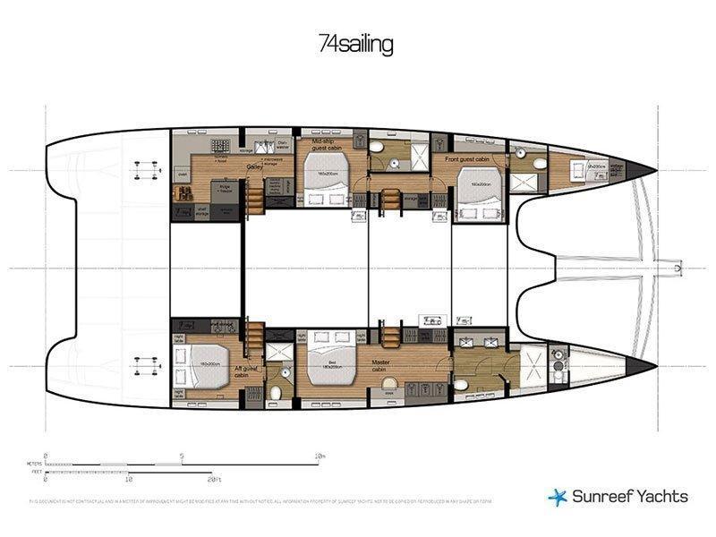 Sunreef 74 (MerSea) Plan image - 4