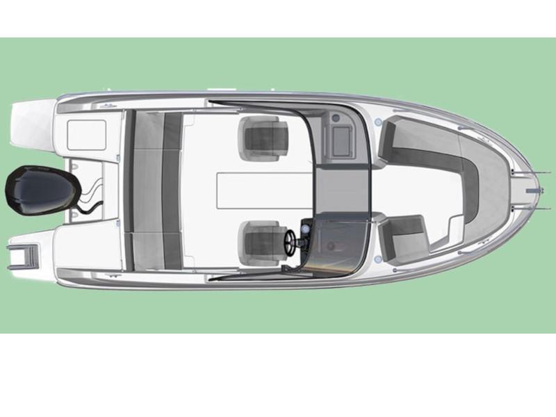 Cap Camarat 6.5 BR (B-One) Plan image - 1
