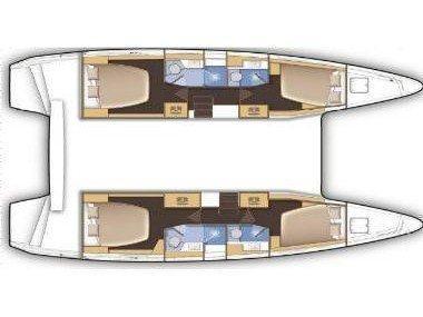 Lagoon 42 (LA MAR) Plan image - 1