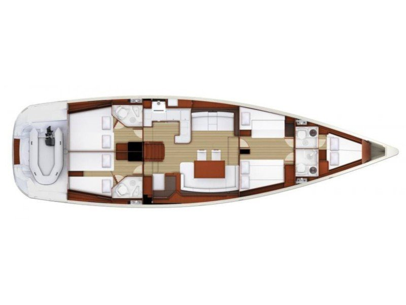 Jeanneau 58 (Atlas) Plan image - 2