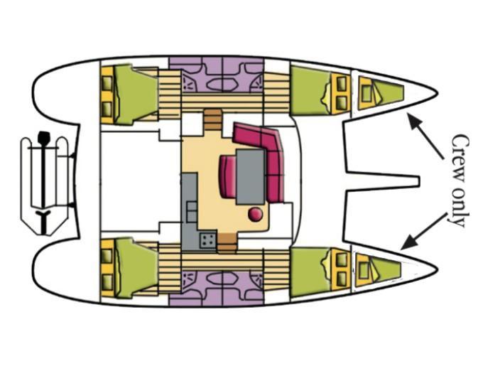 Lagoon 440 (Isis (Generator)) Plan image - 4