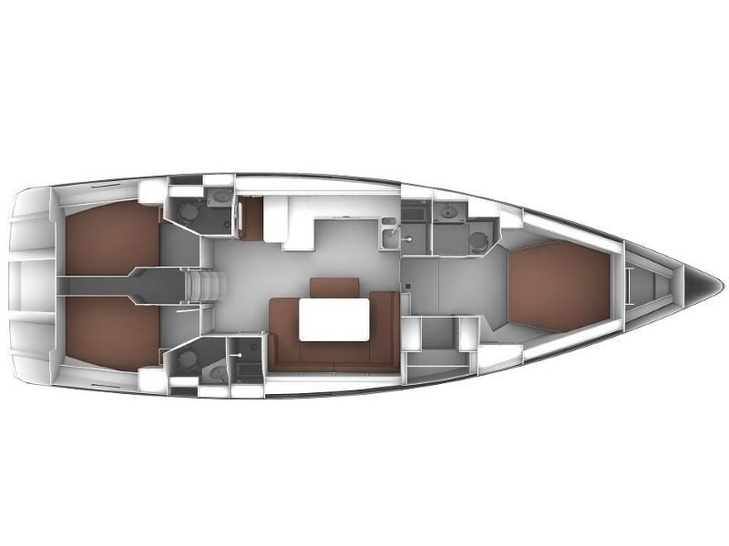Bavaria 51 Cruiser (Artemisia) Plan image - 2