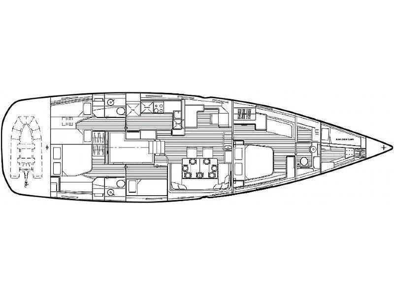 Jeanneau 64 (ENIJA) Plan image - 1