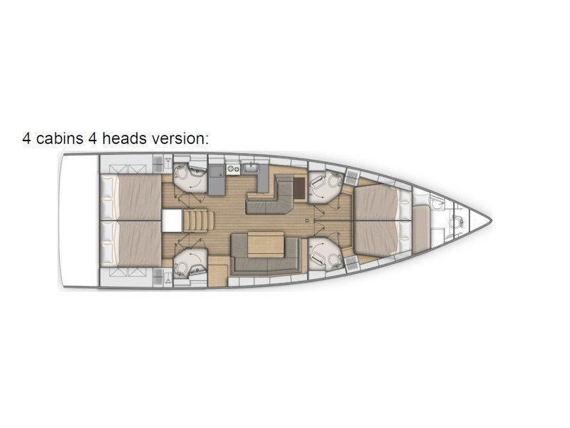 Oceanis 51.1 First Line (Pisces) Plan image - 23