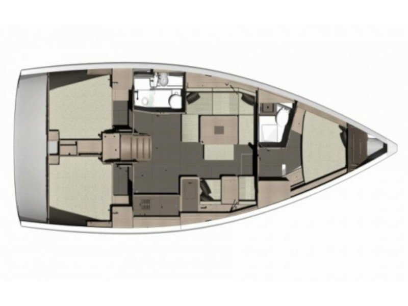 Dufour 412 Grand large (Why not 12) Plan image - 6