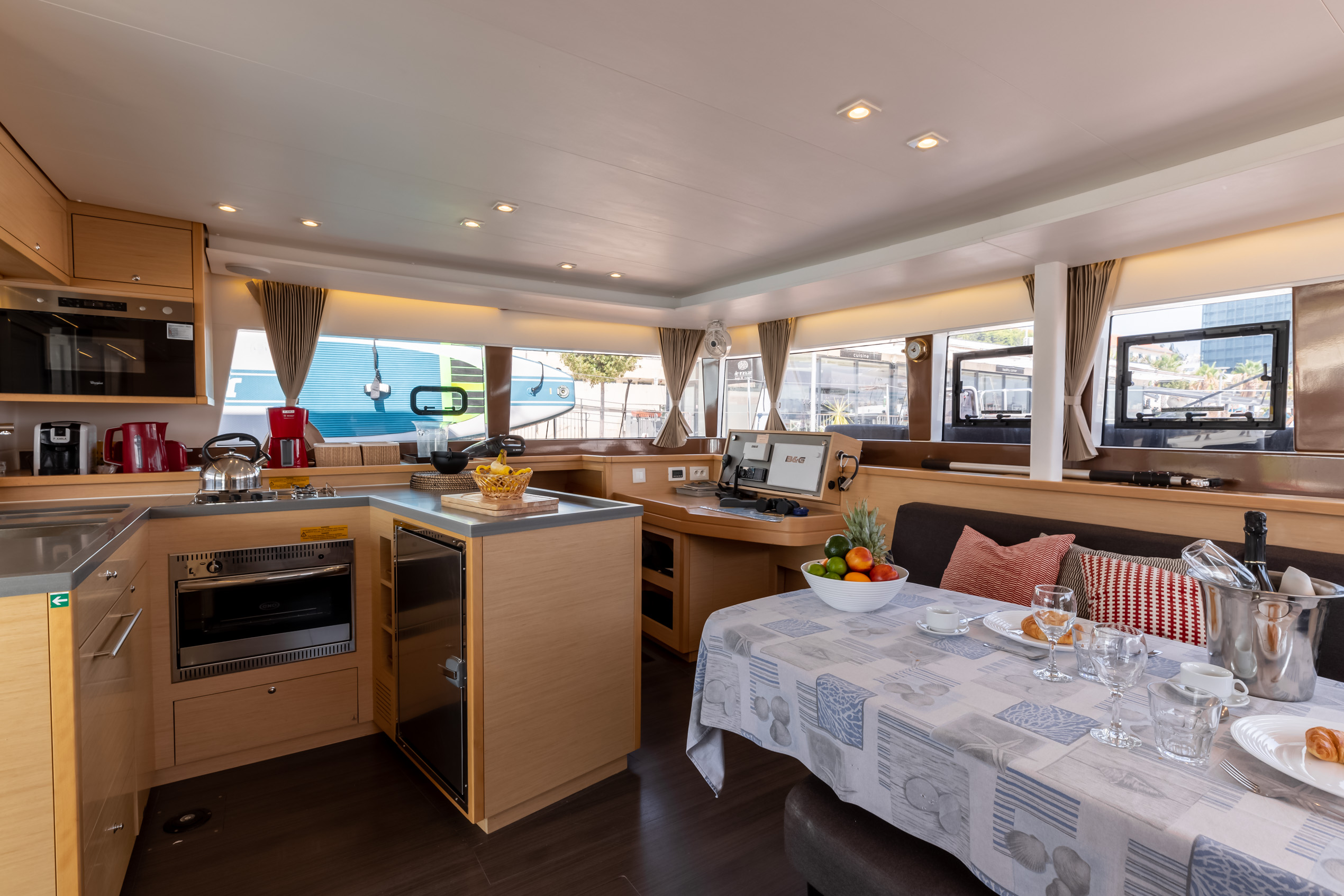 Lagoon 450 F (2017) equipped with generator, A/C ( (PRINCESS KARLA I)  - 7