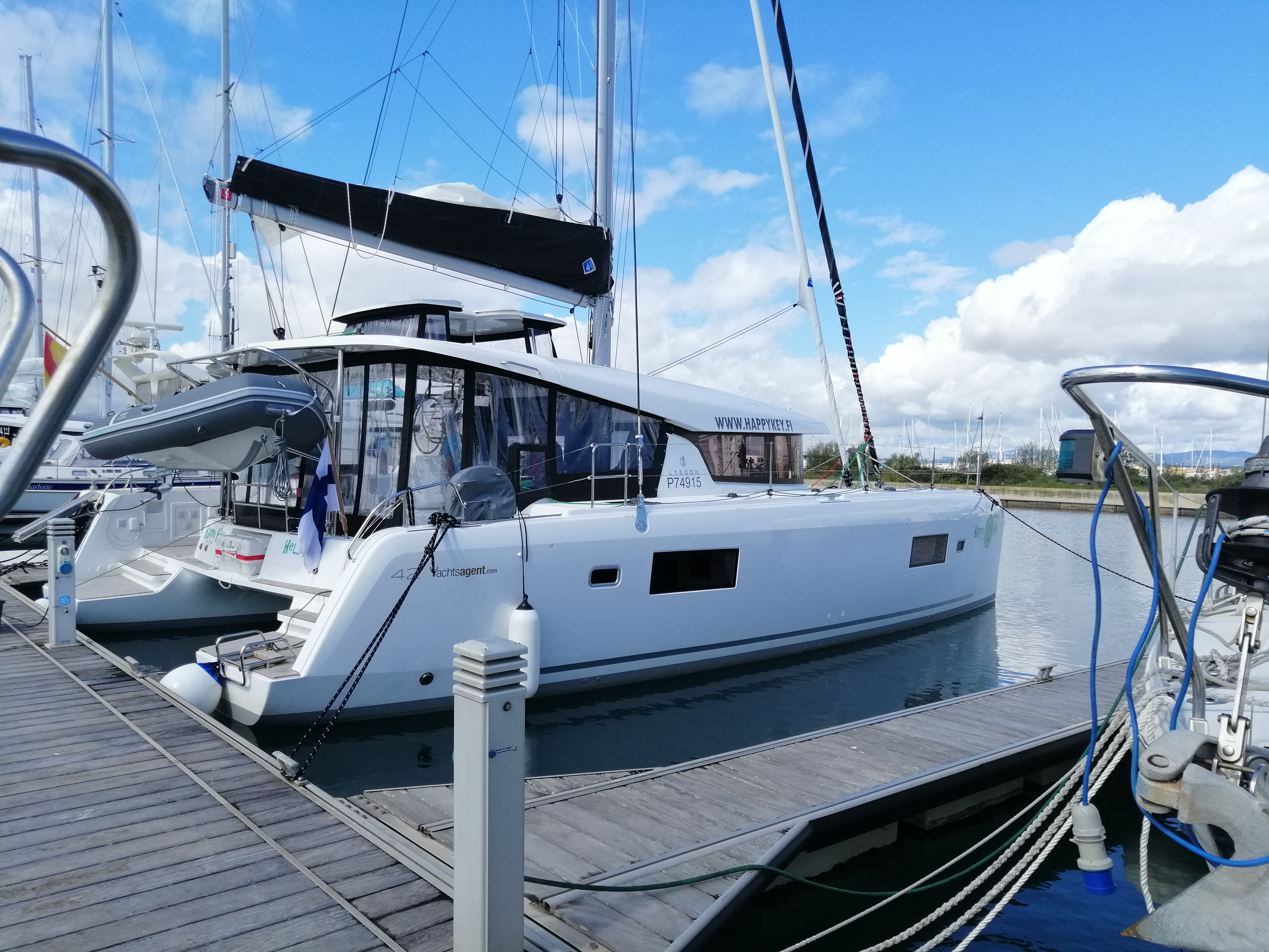 Lagoon 42 (2020) equipped with generator, A/C (sal (HAPPY KEY)  - 15