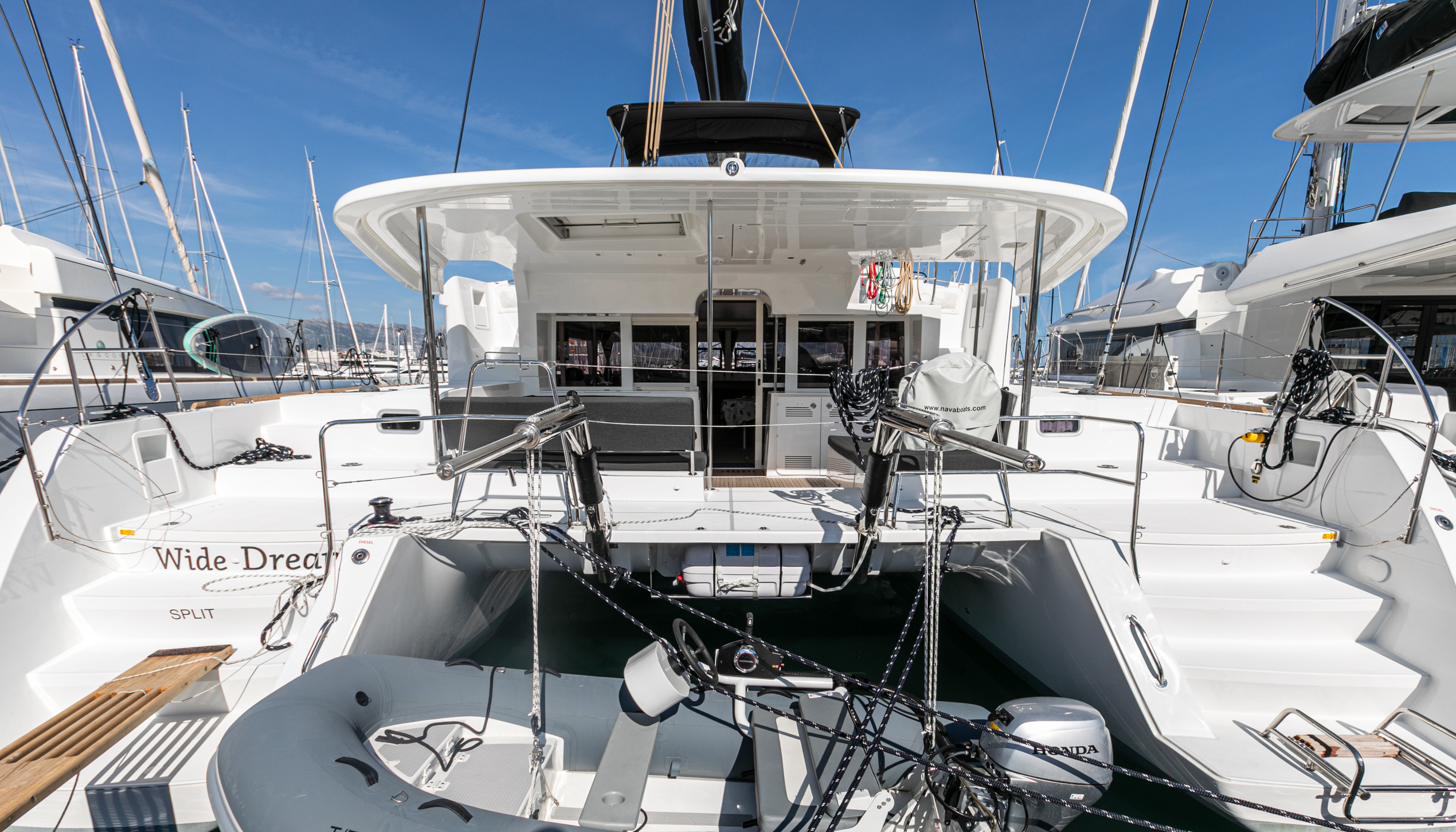 Lagoon 450 F (2019) equipped with generator, A/C ( (WIDE DREAM)  - 15