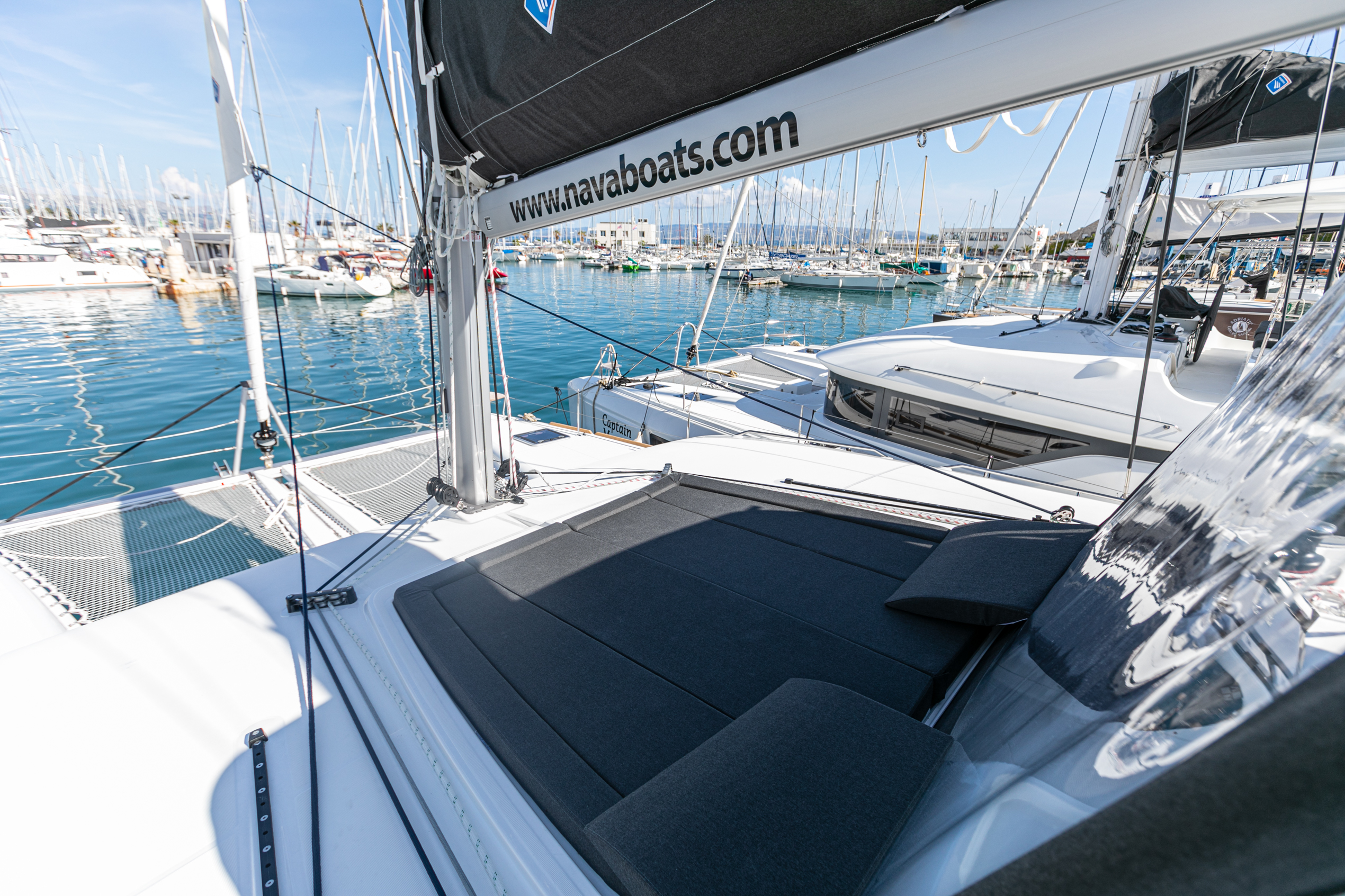Lagoon 450 F (2019) equipped with generator, A/C ( (WIDE DREAM)  - 17