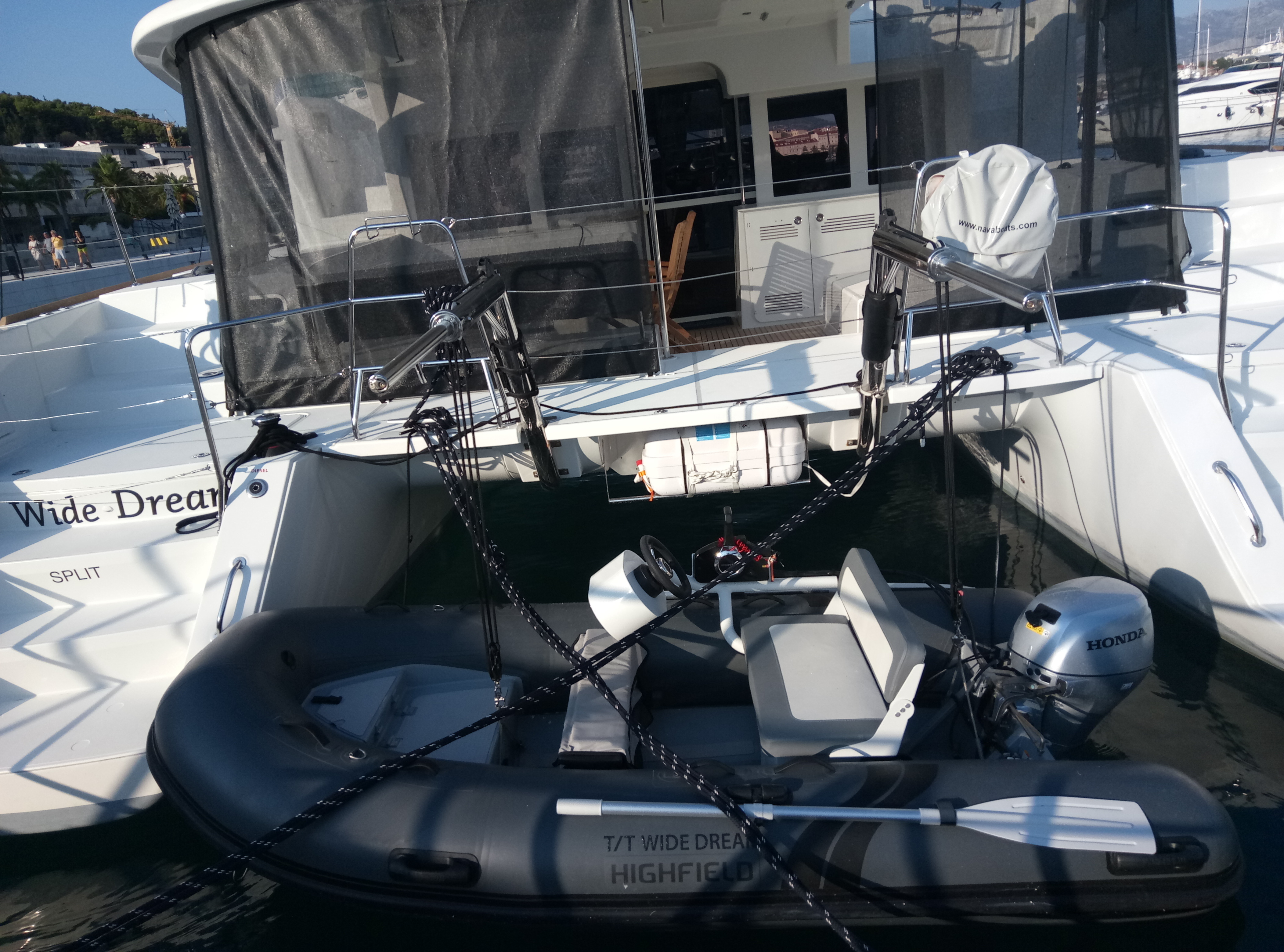 Lagoon 450 F (2019) equipped with generator, A/C ( (WIDE DREAM)  - 4