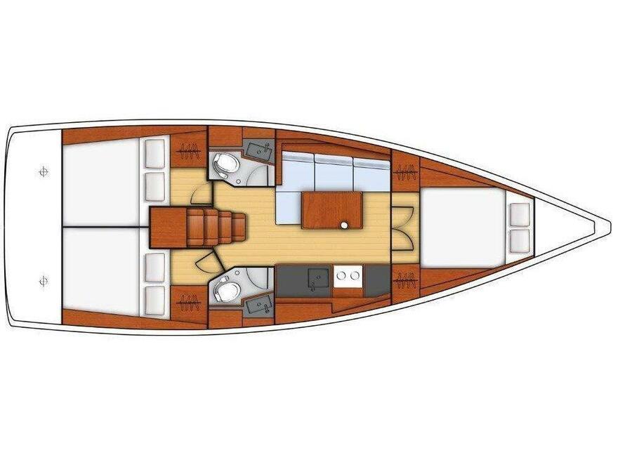 OCEANIS 38.1 BT (ELSA) Plan image - 5