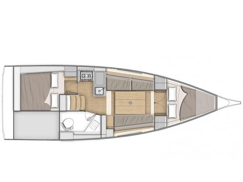 Oceanis 30.1 (ARYA) Plan image - 2