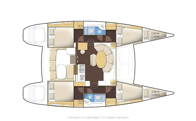 Lagoon 380 (Bellevue)  - 12