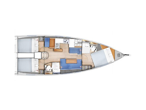 Sun Odyssey 410 (Emotion) Interior image - 26