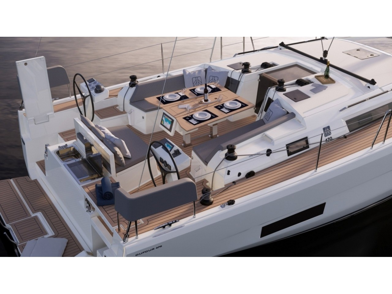 Dufour 470 (Ad Astra - Customized exclusive s/y) Main image - 0